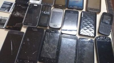 Incautan 19 teléfonos celulares tras requisa en Tacumbú