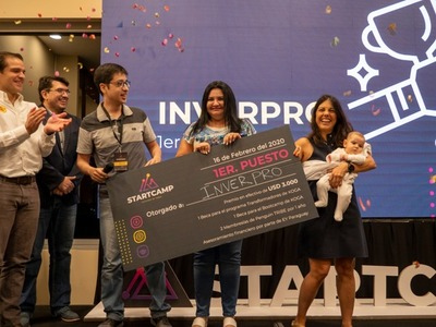 Los ganadores de Startcamp, 1ª edición, recibieron sus premios