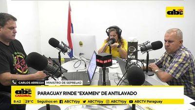 Paraguay rinde examen antilavado