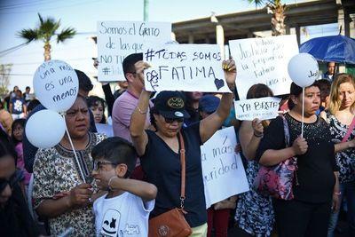 Mujeres protestan en México por el asesinato de una niña de 7 años