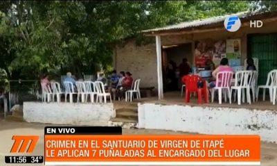 Matan a puñaladas a encargado de santuario de la Virgen de Itapé