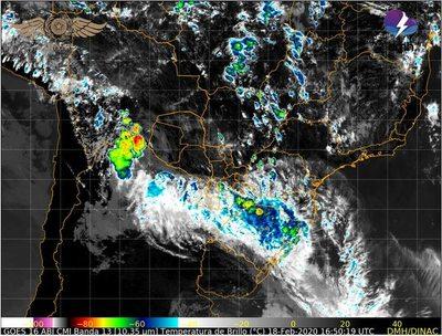 Renuevan aviso de tormentas eléctricas y fuertes ráfagas de viento