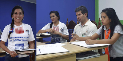 DEL PILAR VÁZQUEZ ASUME LA PRESIDENCIA DE LA LIGA JOSÉ LEANDRO OVIEDO