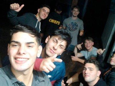 Rugbiers sospechosos de la muerte de Fernando se quitaron una selfie tras el crimen