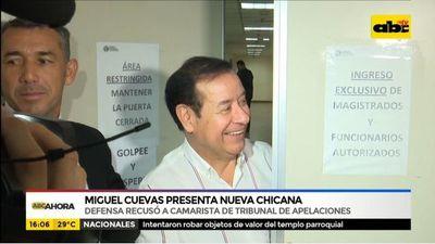 Miguel Cuevas presenta nueva chicana