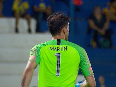 Martín Silva es el Tapador de la fecha 5 del torneo Apertura