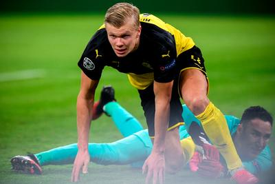 Haaland pone al Borussia en ventaja ante el PSG