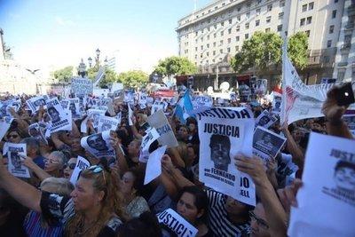 Marcha multitudinaria para pedir justicia por Fernando Báez Sosa