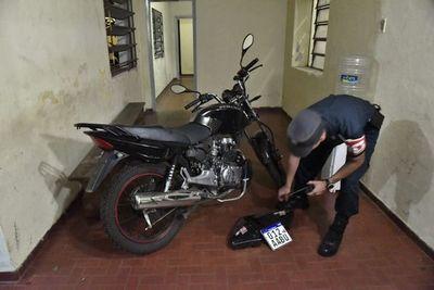 Gracias al GPS, recuperan moto robada ayer