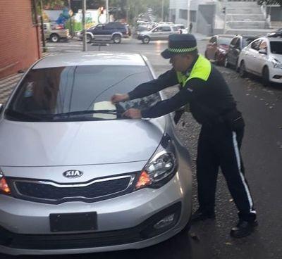 Ante control y aplicación de multas, conductores se cuidan de PMT