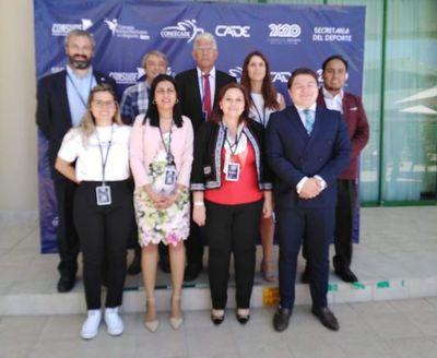 Ministra de Deportes Fátima Morales presente en Cumbre del Deporte 2020