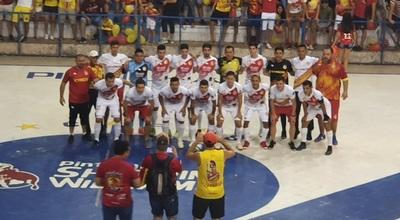 Futsal: En infartante partido, Horqueta logra clasificación