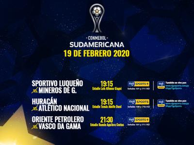 Surgirán más clasificados a la segunda fase de la Sudamericana