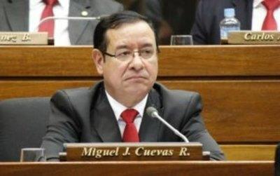 Ratifican prisión preventiva para Miguel Cuevas
