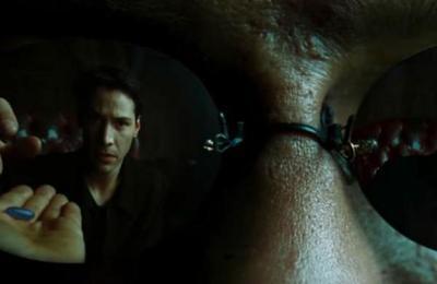 Matrix: video muestra lo que hubiera pasado si Neo se tomaba la pastilla azul