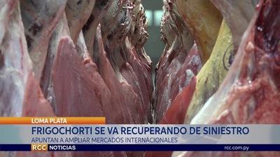 A CASI UN AÑO DEL INCENDIO: FRIGOCHORTI SE RECUPERA DE FORMA SEGURA