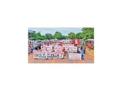 Cuevas movilizó a sus operadores de Paraguarí para evitar la cárcel