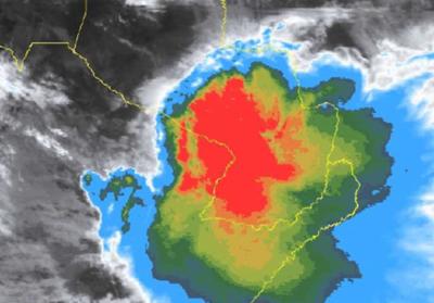 Alerta para el  Norte de la Región Oriental y Chaco