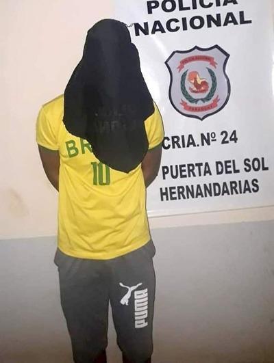 Detienen a joven acusado de violar a adolescente de 15 años