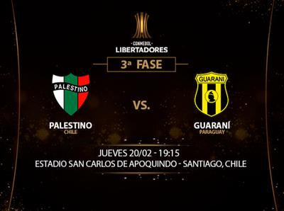 Guaraní busca sorprender a Palestino