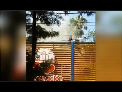 PRINCIPIO DE INCENDIO CAUSA SUSTO EN LA MUNICIPALIDAD DE ENCARNACIÓN