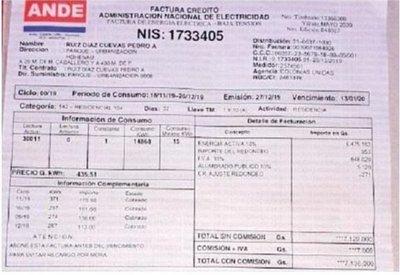 """Hohenau: ANDE no pudo leer un medidor """"por culpa de un perro bravo"""" y facturó Gs. 7 millones a un usuario"""