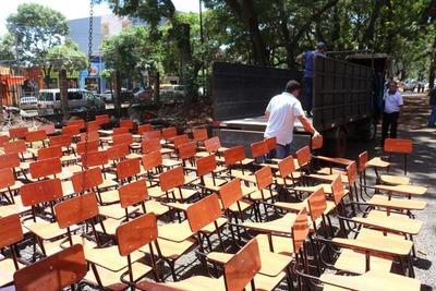 Distribuyen 3000 sillas pedagógicas a 52 instituciones del Alto Paraná