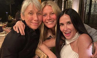 Gwyneth Paltrow y la revolución de las fiestas sin maquillaje