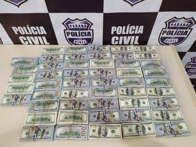 Paraguayas caen con USD 500.000 que transportaban de forma ilegal