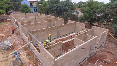 Avanza obra de la ampliación del hospital de Minga Guazú