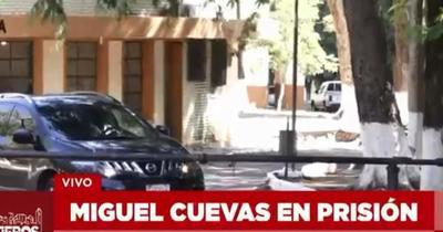 Miguel Cuevas quedará preso en la Agrupación