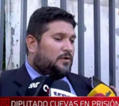 Diputado Miguel Cuevas ya está instalado en su celda