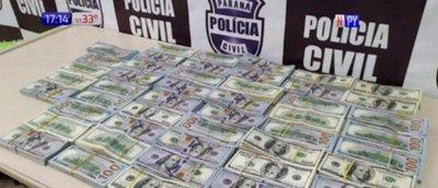 Paraguayas detenidas con USD 500.000 en Brasil