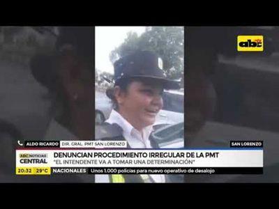 Denuncian procedimiento irregular de PMT de San Lorenzo