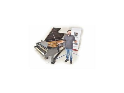 IMA suma un piano de cola a su acervo de instrumentos