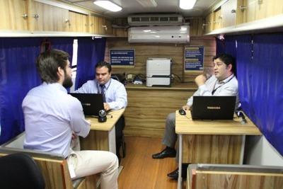 Plataforma Móvil de la SET ofrece hoy sus servicios gratuitos en Luque