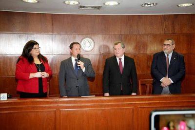 Nuevo titular de la Corte dice dará continuidad a procesos de transparencia