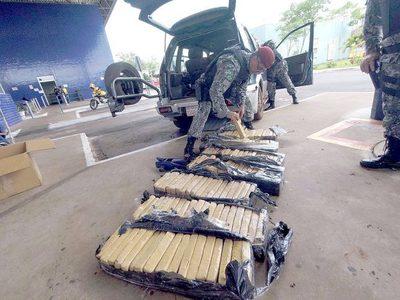 Intenso tráfico de drogas a través del lago Itaipu revela incautación de la Federal
