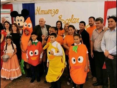 130 INSTITUCIONES EDUCATIVAS DE ITAPÚA RECIBEN DESDE HOY EL ALMUERZO ESCOLAR