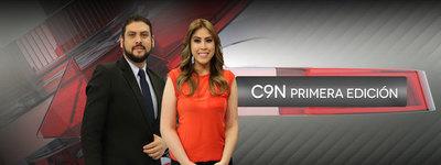 C9N Noticias Primera Edición con Carlos Troche