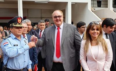 González Vaesken insistió en la descentralización durante rendición de cuentas