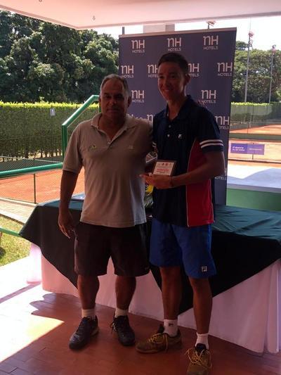 Martin Vergara campeón en singles y dobles en Colombia