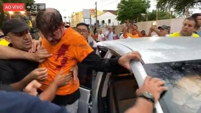 HOY / Hieren de bala a un senador brasileño durante protesta de policías