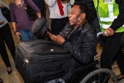 HOY / Pelé ya no puede caminar y  entra en depresión: acusa a  hospital por mala praxis