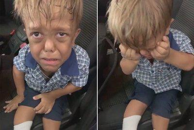 """""""Quiero que alguien me mate"""": el video de un niño que sufre acoso escolar conmociona a las redes y recaudan US$ 200.000 para apoyarlo"""