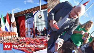 COMPLEMENTO NUTRICIONAL DESDE EL PRIMER DÍA DE CLASES EN ITAPÚA.