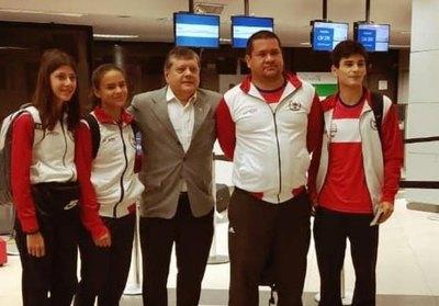 Delegación paraguaya viajó al Panamericano de Esgrima
