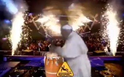 Pataleta del papa Francisco ya tiene su remix
