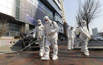 Corea del Sur se convierte en nuevo frente de la epidemia de coronavirus