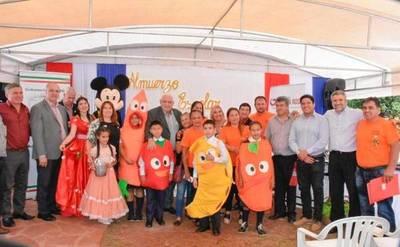 GOBERNADOR ACOMPAÑÓ EL INICIO DEL ALMUERZO ESCOLARES EN EL PRIMER DÍA DE CLASES